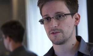 Edward Snowden, photographed in 2013