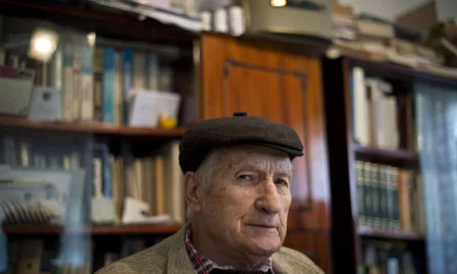 Valentin Cristea, 84, a former political detainee of Ramnicu Sarat prison during the time of Alexandru Visinescu's command and only living survivor