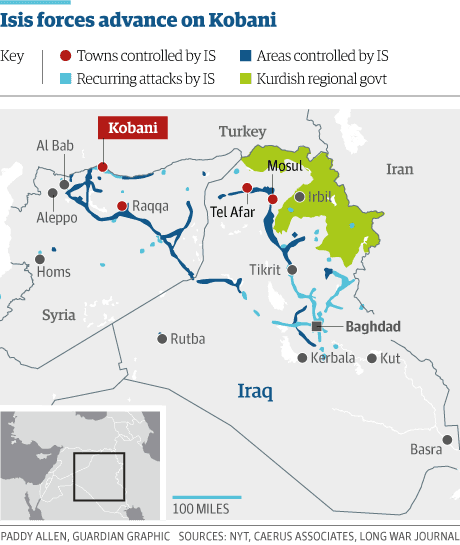 Syria isis kobani