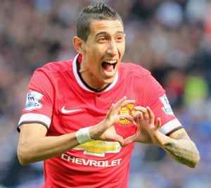 Angel di Maria moved to Manchester United for a shade under £60m.