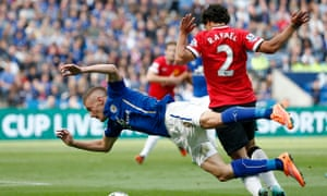 Leicester City v Manchester United - Barclays Premier League