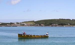 School boat in Tresco