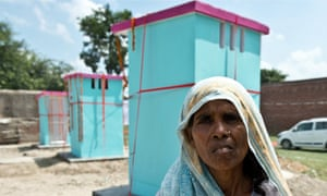 Some 2.5bn people lack toilet facilities but in this Indian village the problem is being tackled.