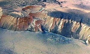 The Echus Chasma pictured by Esa's Mars Express in 2005