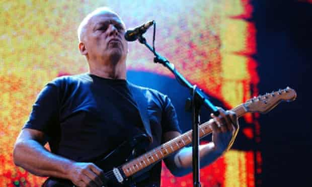 Dave Gilmour of Pink Floyd