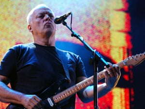 Dave Gilmour of Pink Floyd who have launched their first new album for more than two decades by simultaneously unveiling the artwork in locations around the world.