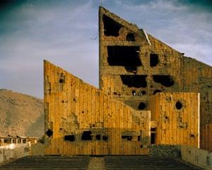 Former Soviet-era 'Palace of Culture', Kabul, 2001-02.