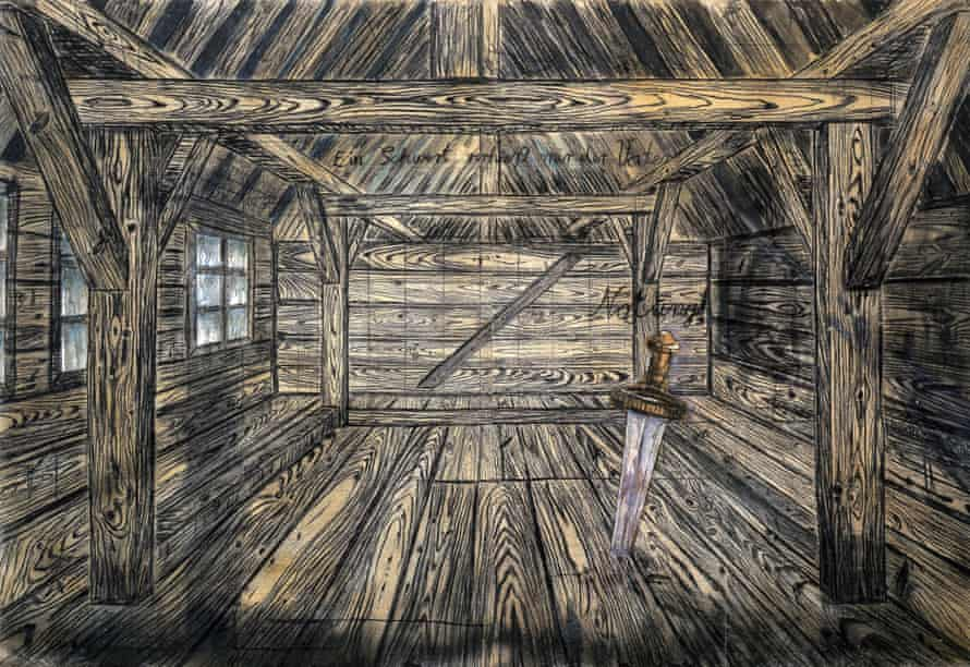 Anselm Kiefer's Nothung, 1973