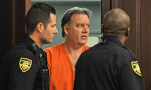 Defendant Michael Dunn enters the courtroom for a hearing in Jacksonville, Florida.
