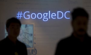 The Google Inc office in Washington DC, home to Google's expanding political lobbying activities. Photograph: Bloomberg via Getty Images