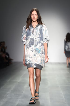 The Christopher Raeburn show during London fashion week