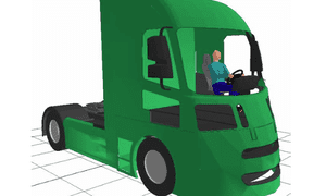 Proposed new lorry design to reduce cyclist fatalities