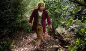 Martin Freeman in the film version of The Hobbit