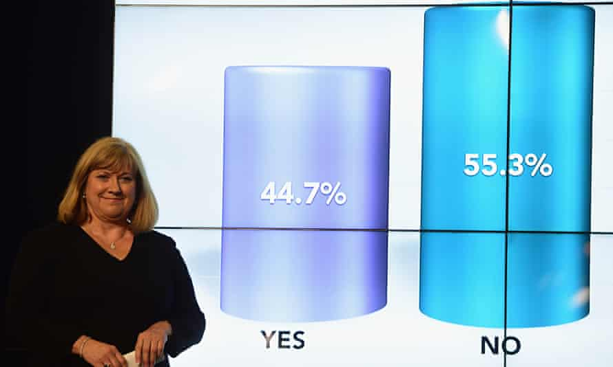 Mary Pitcaithly, chief counting officer in the Scottish independence referendum