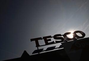 A Tesco Extra in in southwest London.