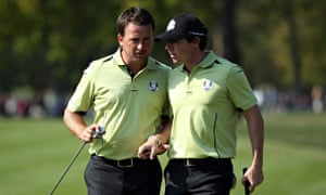 Ryder Cup - Rory McIlroy and Graeme McDowell