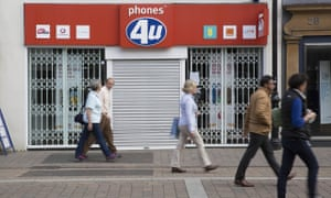 Phones 4u goes into administration