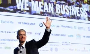Apple CEO Tim Cook at Climate Week NYC