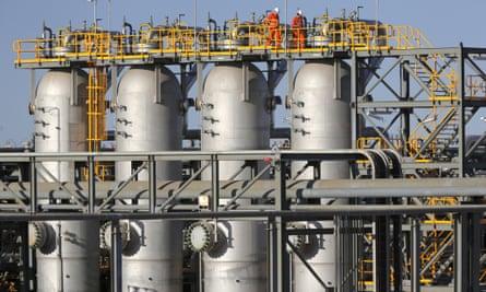 Macedon gas plant