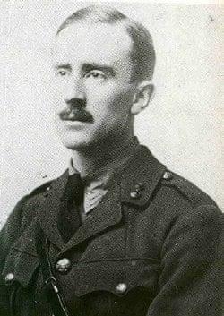 JRR Tolkien at 24