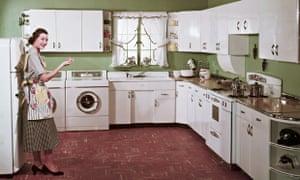 1950s Kitchen Interior