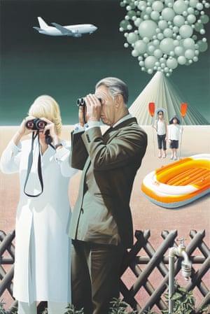 Alexander Gutsche, Monarchie und Alltag (Monarchy and Everyday Life), 2012