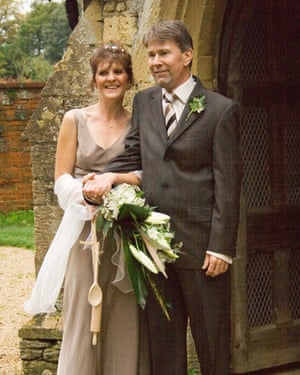 Jo Willetts with her husband John.