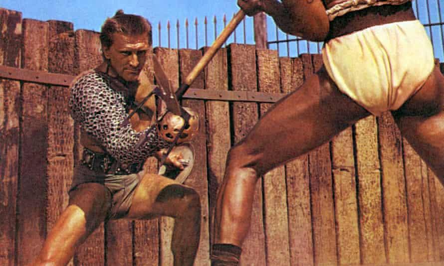 Kirk Douglas in Spartacus film