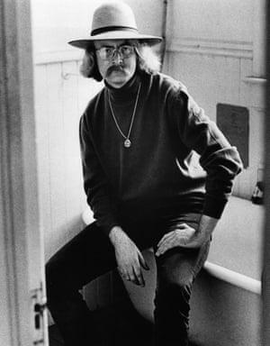 SAN FRANCISCO - 1970:  Richard Brautigan.