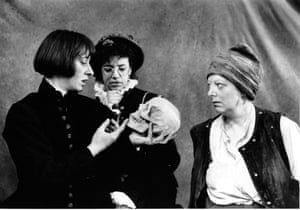 Ruth Mitchell played Hamlet in The Roaring Girls Hamlet