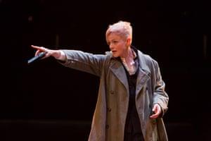 Maxine Peake as Hamlet in Hamlet at the Royal Exchange Theatre