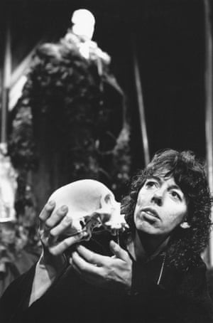 Frances de la Tour plays Hamlet at the Half Moon Theatre, London in 1979