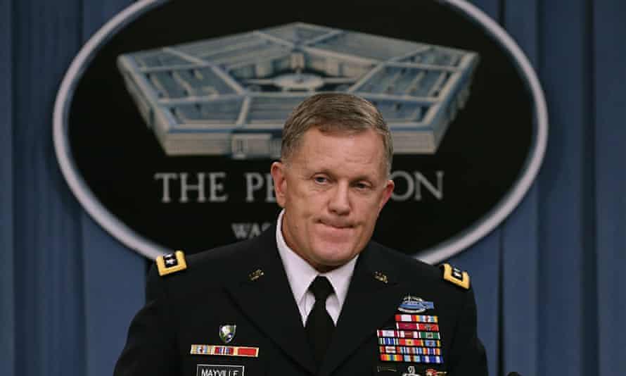 Pentagon briefing on air strikes against sSis