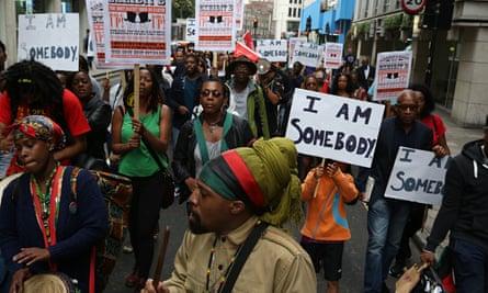 Exhibit B protesters