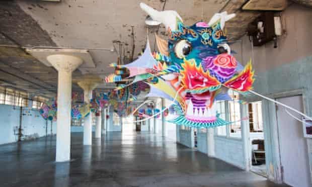 Ai weiwei alcatraz kites