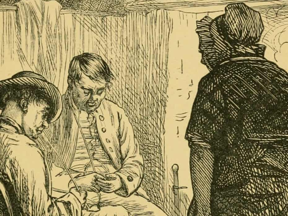 An illustration from 'The poetical works of Robert Burns'