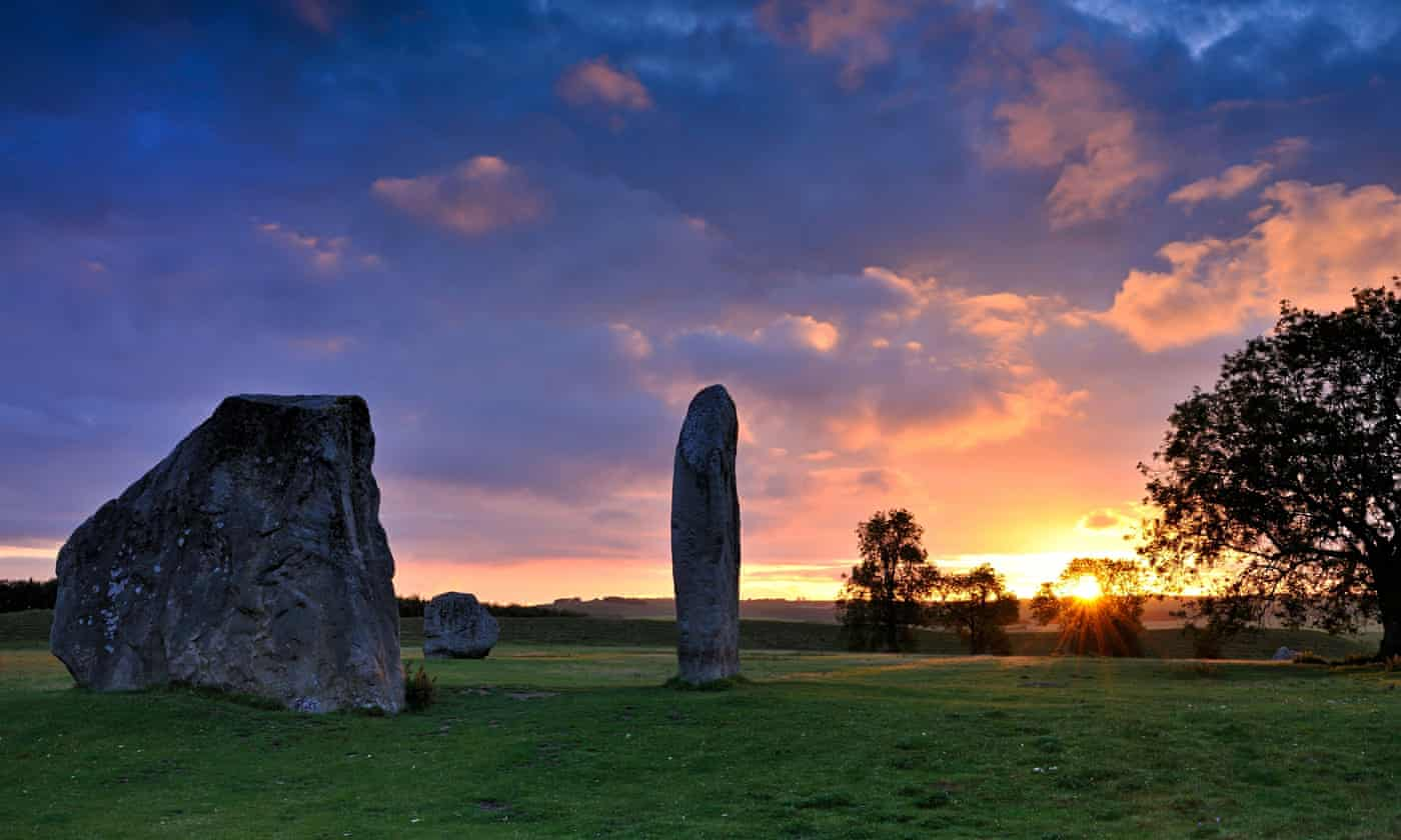 Racing to the stones: a run along England's oldest footpath