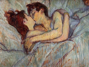 Toulouse Lautrec  In Bed The Kiss 1892