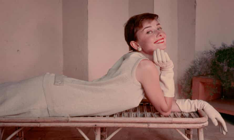 Audrey Hepburn in 1955. Taken from the exhibition Knitware – Chanel to Westwood