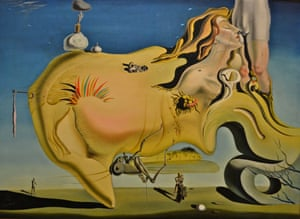 Salvador Dali The Great Masturbator 1929 Reina Sofia Museum, Madrid