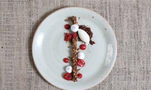 chocolate ganache at Norse