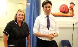Labour visit to Leighton Hospital