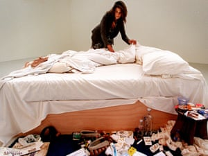 Between the sheets: making My Bed (1998).