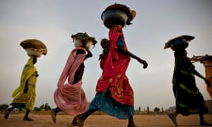 Refugees flee to Chad