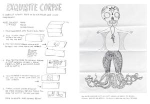 Great art Dali exquisite corpse