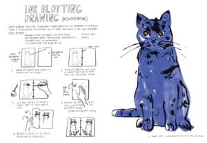 Great artists hi res blue cat hi res