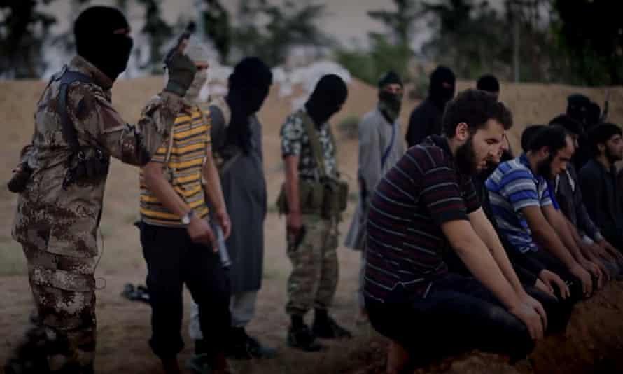 An Isis propaganda video