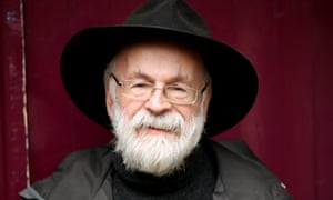 'Beneath any jollity there is a foundation of fury. Terry Pratchett is not one to go gentle into any night, good or otherwise.' Photograph by Graeme Robertson for the Guardian
