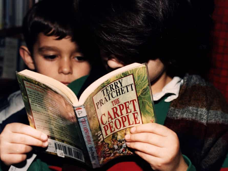 'Any Terry Pratchett book is a small miracle' ... Photograph: Frank Martin
