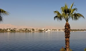 The river Nile in Luxor, Egypt